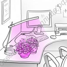 "Настольная лампа для подсветки цветов ""Андромеда"""